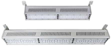 Linear LED highbays indoor precision commercial applications