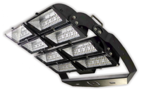 Precision LED sports tower floodlights