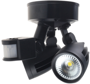 Motion sensor LED for indoor and outdoor use