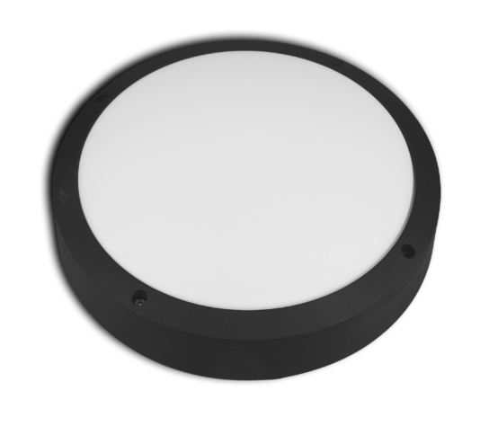 LED round bulkhead light with options and accessories