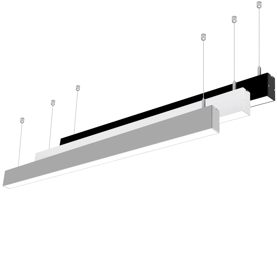 LED linear duo with ambient backlight